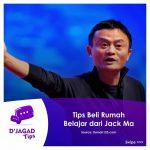 Tips Bisa Beli Rumah ~ Belajar dari Jack Ma