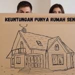 Pasangan Muda Wajib Baca!!! Inilah Beberapa Keuntungan Jika Punya Rumah Sendiri